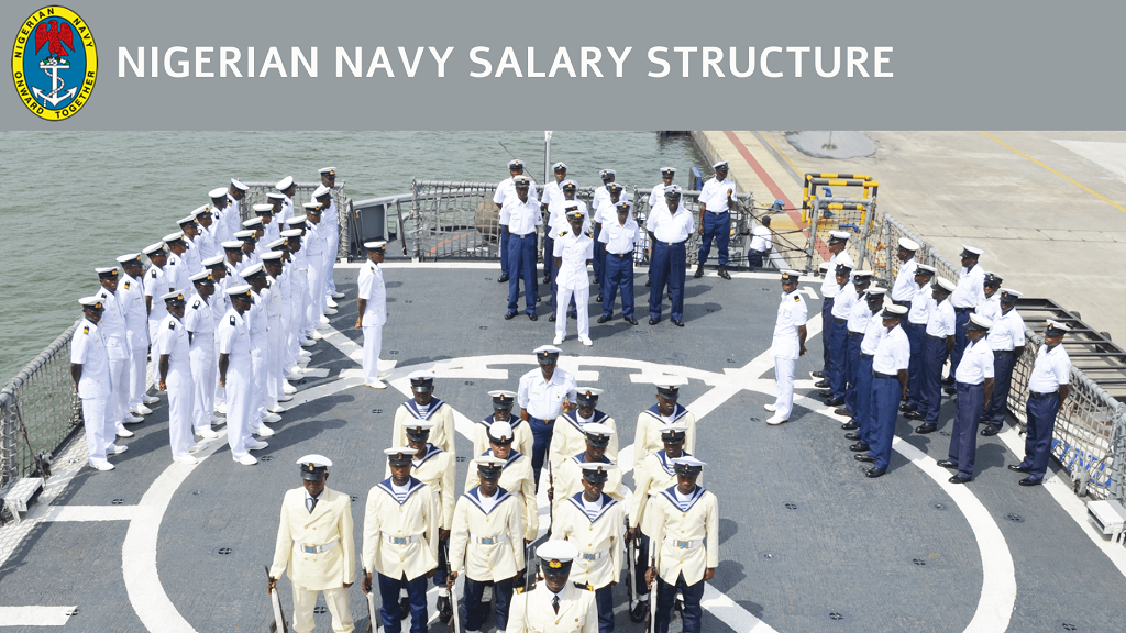 Nigerian Navy Salary Structure Updated